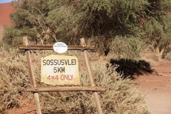 Dunas de Sossusvlei - Viaje en grupo a Namibia