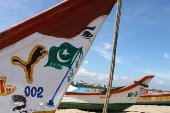 Playa en Tamil Nadu - Viaje en grupo al sur de la India