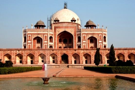 Palacio en Delhi - viaje organizado a la India