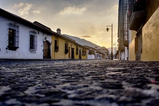 Amanecer en Antigua - viaje a Guatemala y Belice
