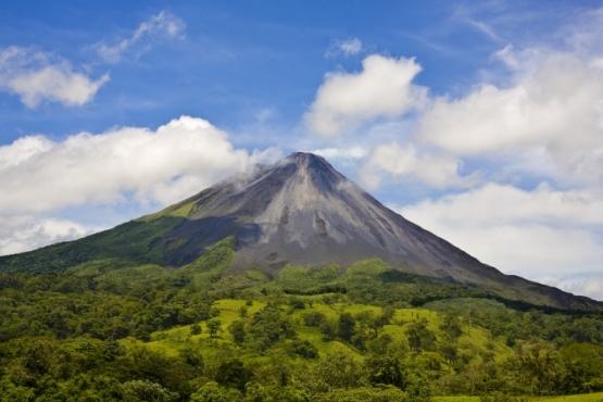 Volcán Arenal - viaje sostenible a Costa Rica