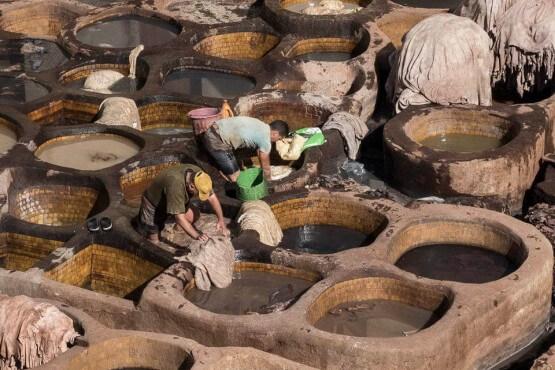 Tanerías de Fez - viaje fotográfico a Marruecos