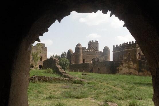 Castillo de Gondar - viaje al norte de Etiopía