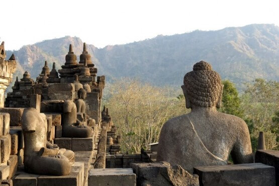Vistas desde Borobudur - viaje alternativo a Indonesia