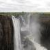 Las cataratas Victoria desde Zambia - safari Botswana