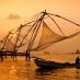 Redes Chinas en Cochin - viaje organizado sur de india