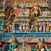 Detalles de templo - Circuito al sur de India