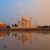 Reflejos del Taj Mahal - viaje organizado a la India