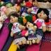 Muñecas tradicionales en el mercado de Chichicastenango - circuito por Ruta Maya