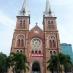 Catedral de Notre Dame en Ho Chi Minh - viaje en grupo a Vietnam y Camboya