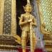 Escultura - Gran Palacio de Bangkok - Viaje alternativo a Tailandia