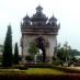 Arco del triunfo en Vientiane