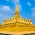 Templo Wat That Luang - Viaje a Laos