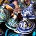 Tajines en el zoco de Marrakech