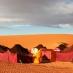 Campamento beduino en el desierto de Merzouga - Escapada al sur de Marruecos